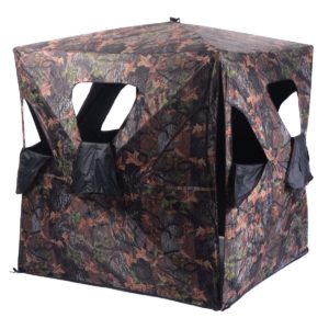 Tangkula Ground Hunting Blind Portable Deer Pop Up Camo Hunter Weather Proof Mesh Window  sc 1 st  10Hunt & Best Deer Blinds 2017 - Buyers Guide for Hunting Blinds