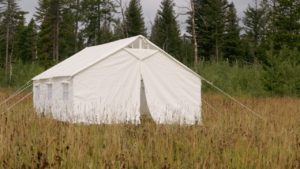 13 X 16 Canvas Wall Tent